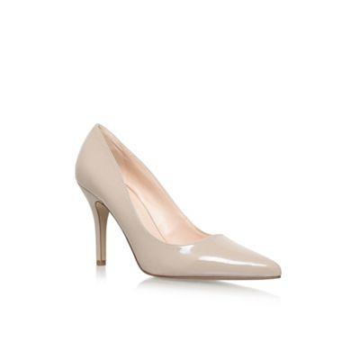 Nine West - Natural 'Flagship' high heel court shoes