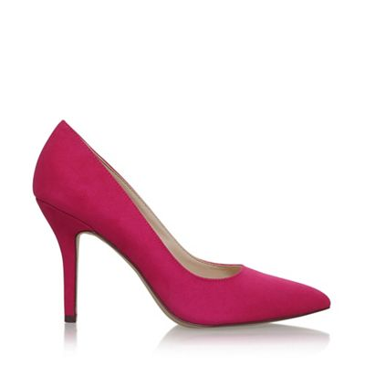 nine west pink 'flagship' high heel court shoes  debenhams