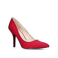 Nine West - Wine 'Flagship' mid heel court shoes