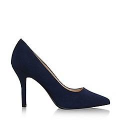 Nine West - Blue flagship high heel court shoes