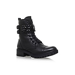 Miss KG - Black 'Sax' low heel ankle boot