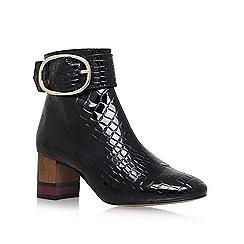 KG Kurt Geiger - Black 'Ringo' high heel ankle boots