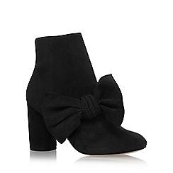 KG Kurt Geiger - Black 'Rattle' high heel ankle boots