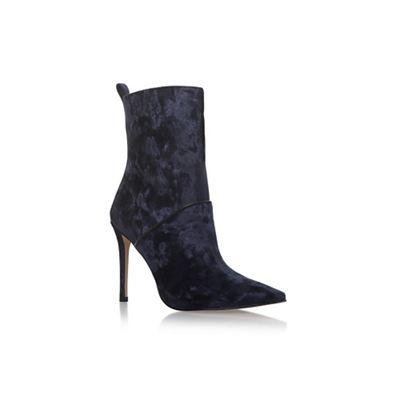 KG Kurt Geiger - Blue 'Rascal' high heel ankle boots