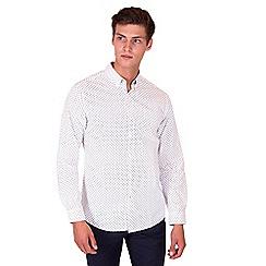 Steel & Jelly - White shark print shirt