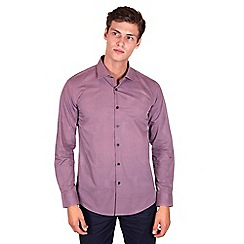 Steel & Jelly - Big and tall purple limited edition geo printed shirt