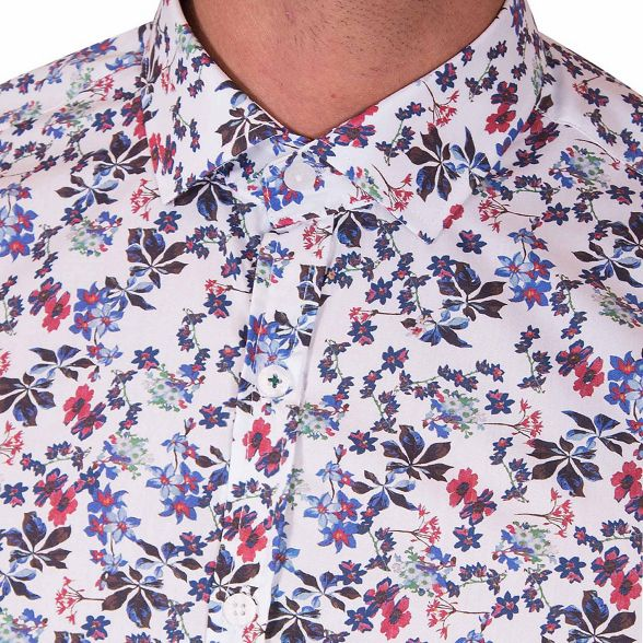 print Steel White shirt limited amp; Jelly edition floral wvvpxHB6nq