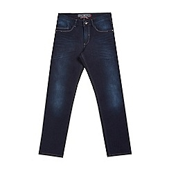 Mish Mash - Big and tall navy slim tapered stretch denim jeans