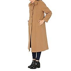 David Barry - Camel large collar jacket
