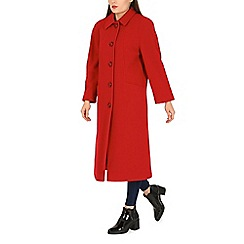 David Barry - Red single breasted coat