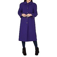David Barry - Purple single breasted coat