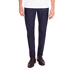 Steel & Jelly - Navy slim fit cotton stretch chinos