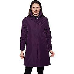 David Barry - Lilac rain jacket