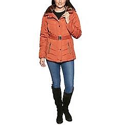 David Barry - Orange jacket