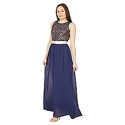 Solo - Navy chloe maxi dress