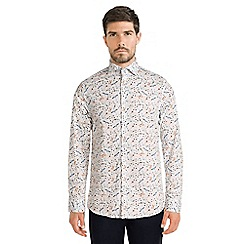 Steel & Jelly - White limited edition dragonfly print shirt