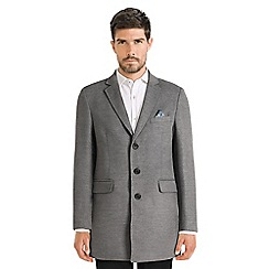 Steel & Jelly - Grey single breasted tropical lined coat