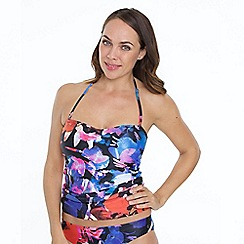 Seaspray - Multicoloured rio tankini top print
