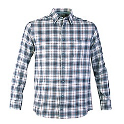 Bar Harbour - Beige winter check casual shirt