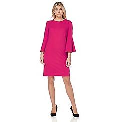 Roman Originals - Pink plain shift dress