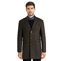 Steel & Jelly - Dark green single breasted tropical lined coat