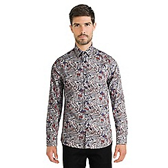 Steel & Jelly - White limited edition paisley print shirt