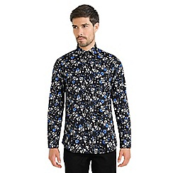 Steel & Jelly - Black limited edition floral print shirt