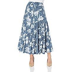Roman Originals - Floral burnout skirt