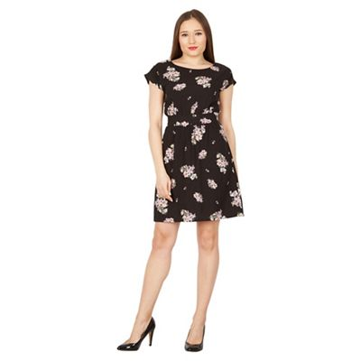Apricot Black Vintage Floral Print Dress Debenhams