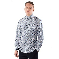 Steel & Jelly - Blue floral print shirt
