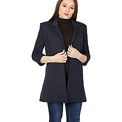 Solo - Navy 3/4 sleeves jacket