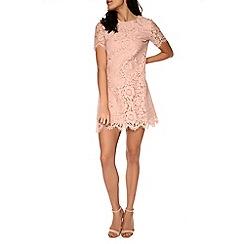 Amalie & Amber - Light pink lace dress