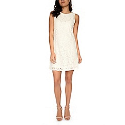 Amalie & Amber - Cream lace shift dress