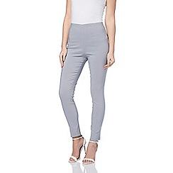 Roman Originals - Grey bengaline full length trouser