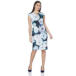 Roman Originals - Navy all over print dress