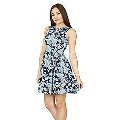 Izabel London - Multicoloured printed fit & flare dress