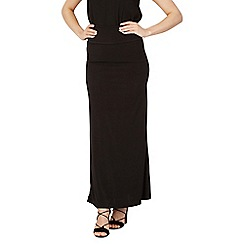Izabel London - Black fitted maxi skirt