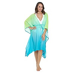 Seaspray - Green chartreuse ombre kaftan
