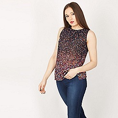 GOLDKID LONDON - Multicoloured diamond print top