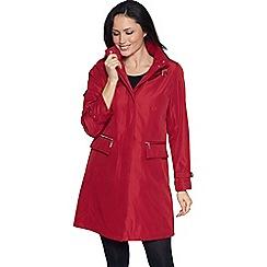 David Barry - Red rain coat