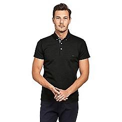 Mish Mash - Black premium heavy weight polo shirt