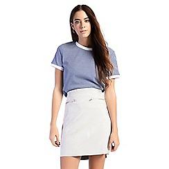 Amalie & Amber - Light grey mini skirt