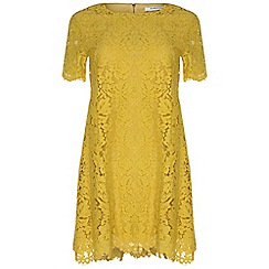 Amalie & Amber - Yellow lace dress