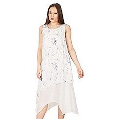 Izabel London - White layered shift dress