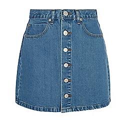 Amalie & Amber - Mid blue denim skirt