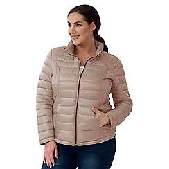Lavitta - Mauve puffa jacket