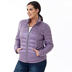 Lavitta - Purple puffa jacket