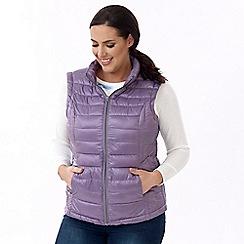 Lavitta - Purple packaway gilet
