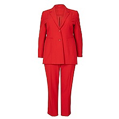 David Barry - Red suit jacket