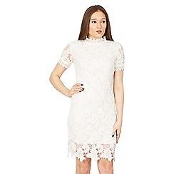 Izabel London - White lace bodycon dress